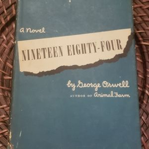 Nineteen Eighty Four by George Orwell 1st Edition